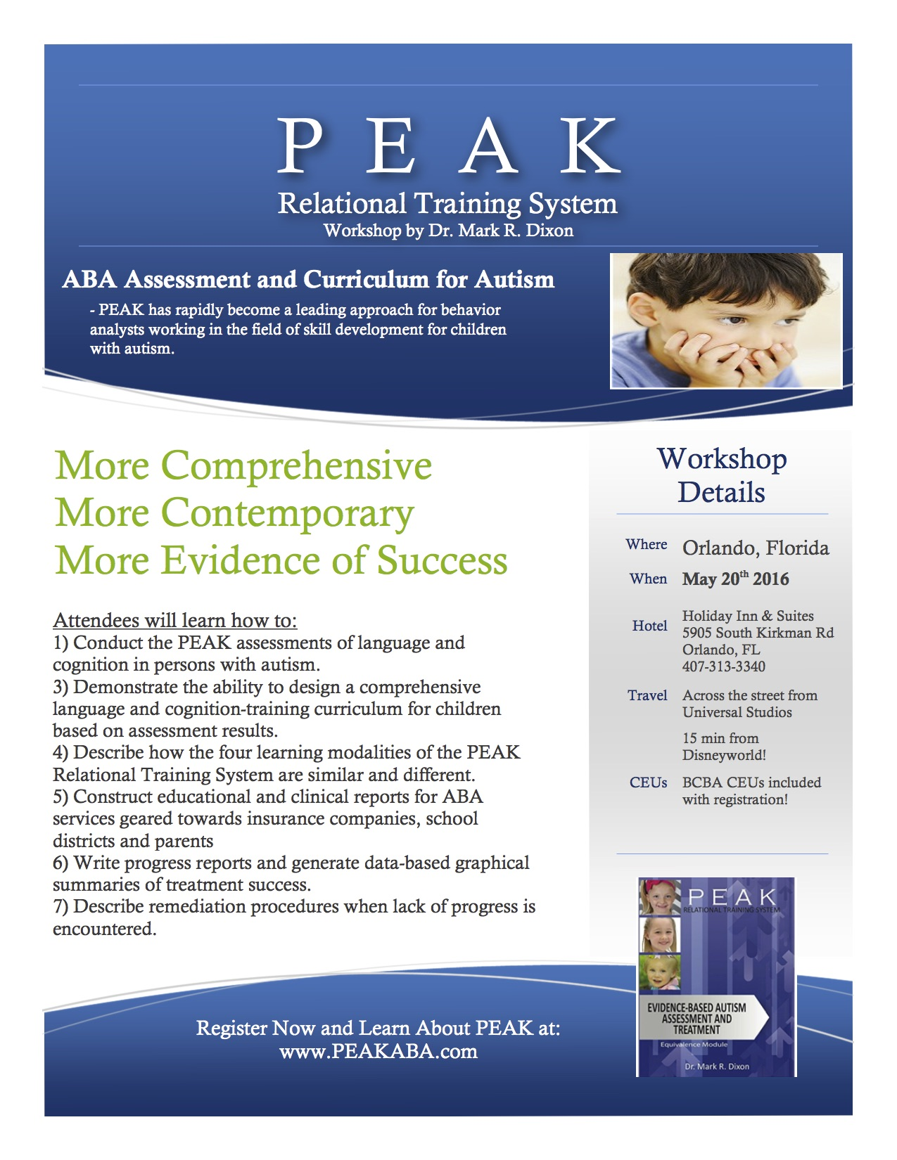 Upcoming Events Peak Relational Training System Peak